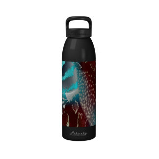 Feather Texture Template Drinking Bottle
