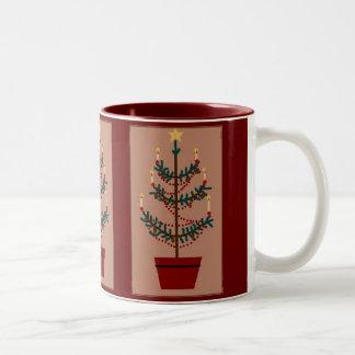 Feather Tree Mug