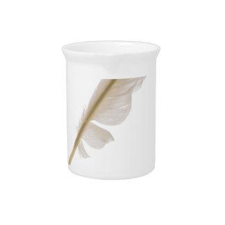 featherandink beverage pitcher