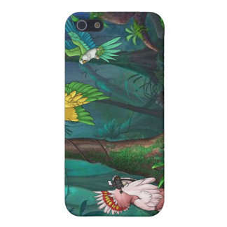 Feathered and Free iPhone 4 Case Rainforest 3