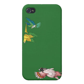 Feathered and Free iPhone Case Green