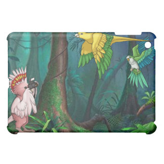 Feathered and Free Rainforest iPad Case