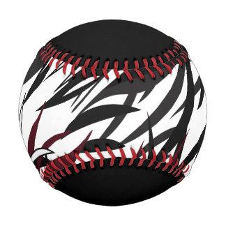 Feathered Black /Garnet/ White baseball