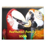 Feathered Family 2008 Calendar