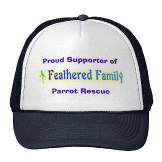Feathered Family Parrot Rescue Supporter Hat