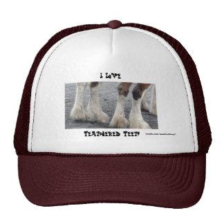 Feathered Feet Trucker Hat