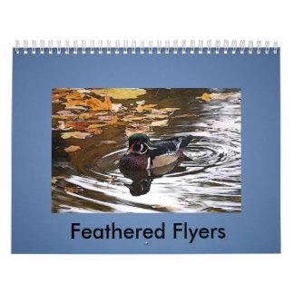 Feathered Flyers Calendar