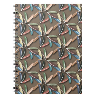 Feathered Fountain Pen Notebook