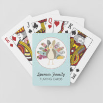 Feathered Friend Personalized Playing Cards