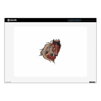 """Feathered Horse 15"""" Laptop Decal"""