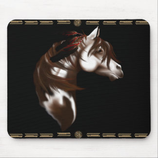 Feathered Horse Mousepad