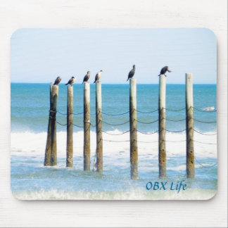 Feathered Life Guard Mouse Pad