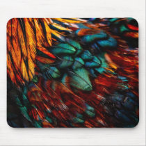 Feathered Mouse Pad