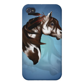 Feathered Paint Horse  iPhone 4 Case