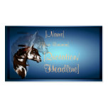 Feathered Paint Horse profilecard_business_hori... Business Card Templates