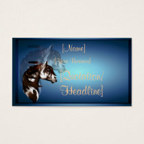 Feathered Paint Horse profilecard_business_hori... Business Card
