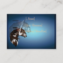 Feathered Paint Horse profilecard_chubby_horizo... Business Card