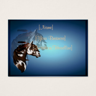 Feathered Paint Horse profilecard_chubby_horizo... Business Card