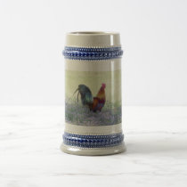Feathered Pride Beer Stein