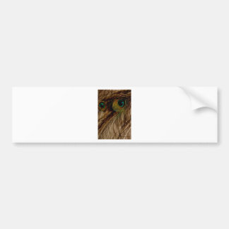 Feathered Pueo Bumper Sticker