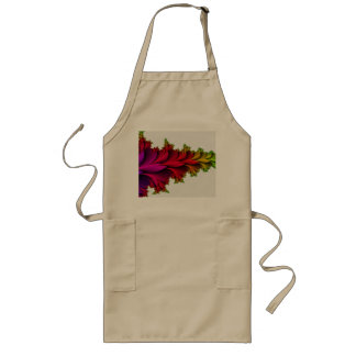 Feathered Rainbow of Fractals Long Apron