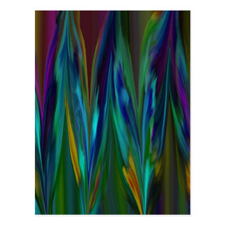 Feathers Abstract 1.jpg Postcard