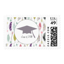 Feathers and Arrows 2018 Graduation Cap Postage