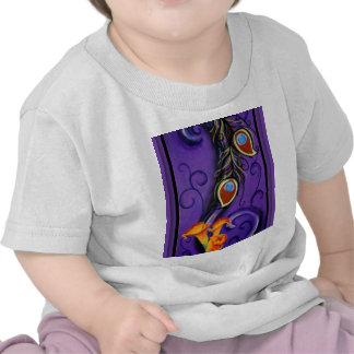 Feathers and Flowers T Shirts