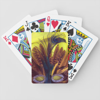 Feathers Bicycle Playing Cards