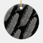 Feathers Christmas Tree Ornaments