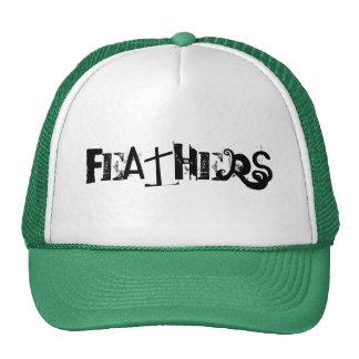 FEATHERS CUSTOM CAP BY WASTELANDMUSIC.COM TRUCKER HAT