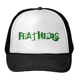 FEATHERS CUSTOM CAPS BY WASTELANDMUSIC.COM TRUCKER HAT