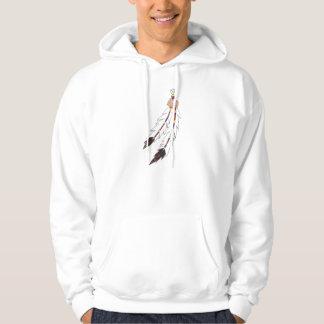 Feathers Hooded Sweatshirts