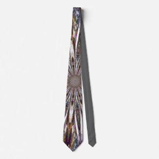 Feathers Kaleidoscope Tie
