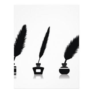 feathers letterhead
