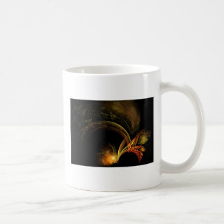 feathers of gold and fire coffee mugs