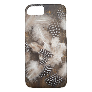 Feathers of guinea fowl iPhone 8/7 case