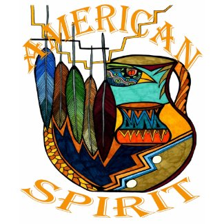 Feathers & Pot Spirit zazzle_shirt