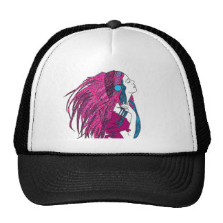 Feathers Trucker Hat