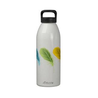 Feathers Water Bottle