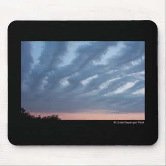 Feathery Clouds Mouse Pad