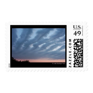 Feathery Clouds Stamps