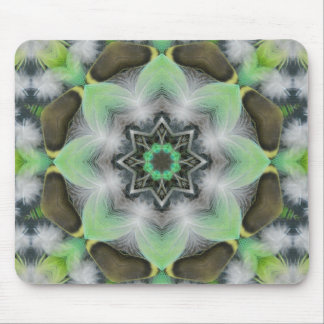 Feathery Eight puffs Nov 2012 Mouse Pad