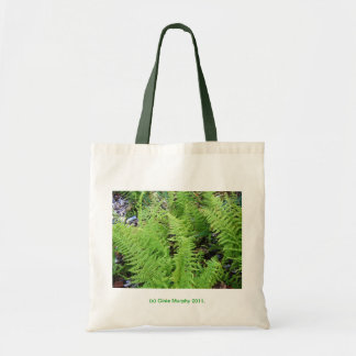 Feathery Ferns Tote Bag