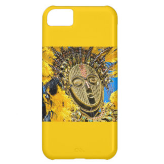 feathery mask case for iPhone 5C