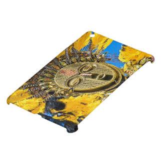 feathery mask iPad mini covers