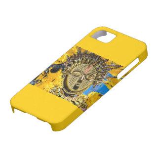 feathery mask iPhone SE/5/5s case