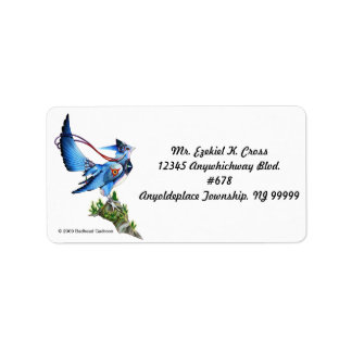 Feathykin Veeku Address Labels