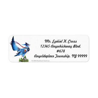 Feathykin Veeku Return Address Labels