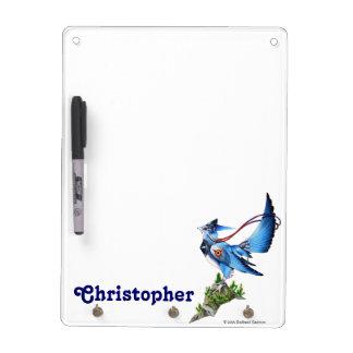 Feathyrkin Veeku Dry Erase With 3 Key Hooks Dry-Erase Board